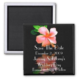 Elegant Save the Date Magnet magnet