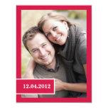 Elegant Save the Date Photo Announcement