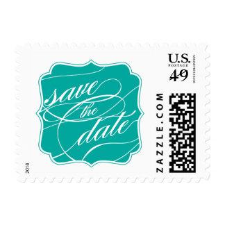 Elegant Save the Date Postage