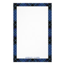 Elegant Scottish Clergy Tartan Plaid Stationery