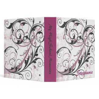 Elegant Scrapbook Binder binder