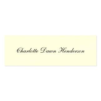 Elegant script graduation announcement name card business card
