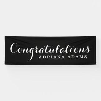Elegant Script Graduation Banner