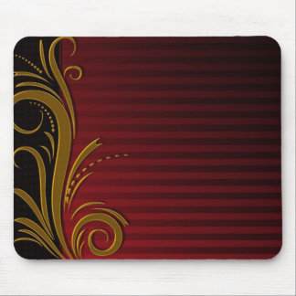 Elegant Scroll Design Mouse Pad