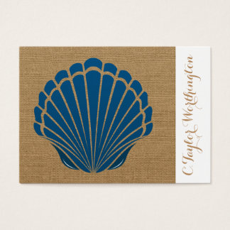 Elegant Sea Shell Business Card