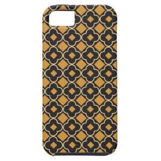 Elegant Seamless Earth-Tone Pattern iPhone SE/5/5s Case