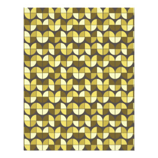 Elegant Seamless Pattern Letterhead