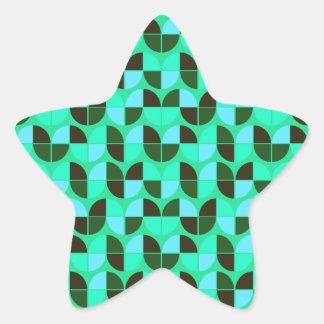 Elegant Seamless Pattern Star Sticker