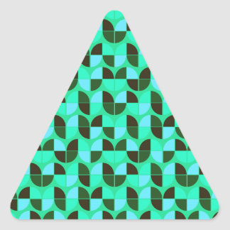 Elegant Seamless Pattern Triangle Sticker