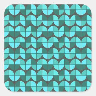 Elegant Seamless Pattern Square Sticker