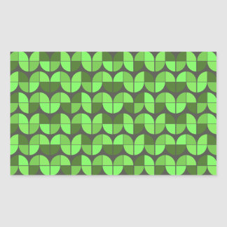Elegant Seamless Pattern Rectangular Sticker