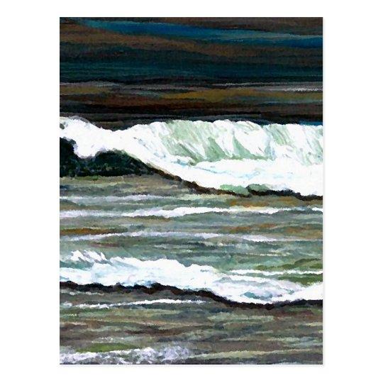 """Elegant Seascape""  CricketDiane Ocean Art Postcard"