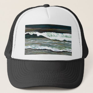 """Elegant Seascape""  CricketDiane Ocean Art Trucker Hat"