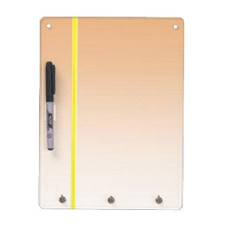 Elegant Sensual Color Shades Dry Erase Board With Keychain Holder