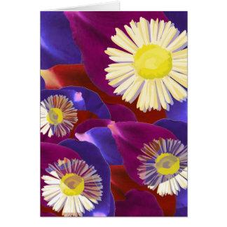 Elegant Sensual Rose Petal Art Greeting Card