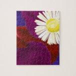 Elegant Sensual Rose Petal Art Puzzle