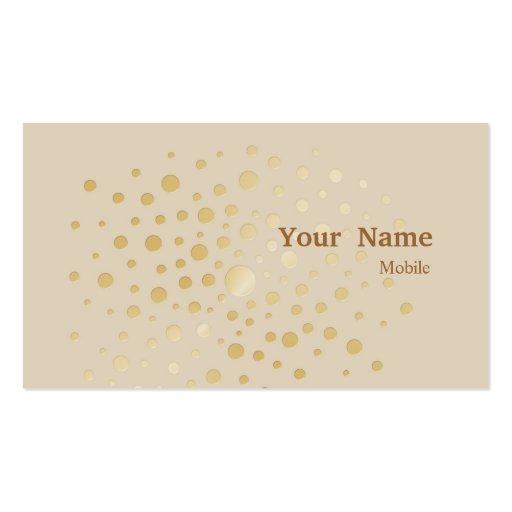 Elegant sequins double sided standard business cards pack for Elegant business cards templates