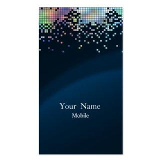 Elegant Sequins Hologram Double-Sided Standard Business Cards (Pack Of 100)