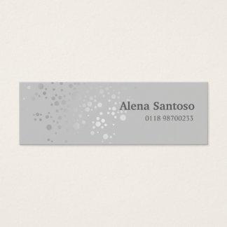 Elegant Sequins Mini Business Card