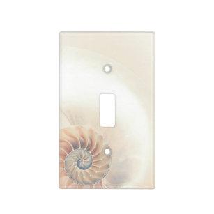 Elegant Shell Beach Light Switch Cover