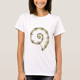 ELEGANT SHELL FITTED TEE