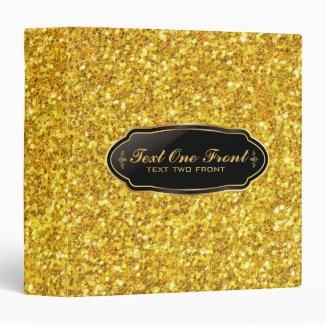 Elegant Shiny Gold Glitter