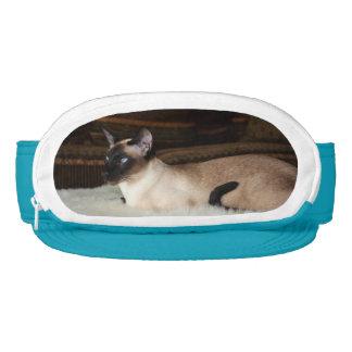 Elegant Siamese Cat Visor