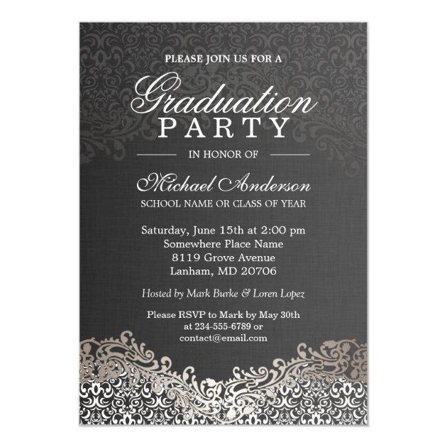 famous black and white gala invitations by38 advancedmassagebysara