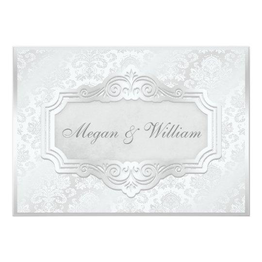Elegant Silver Wedding Invitations: Elegant Wedding Invitations