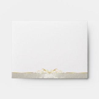 Elegant Silver Pearl Diamond Envelope