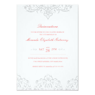 Browse the Quinceanera Invitations Collection and personalize by color, design, or style.