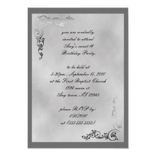 Debutante Invitations Zazzle