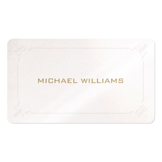 Elegant simple classic professional brightness pea Double-Sided standard business cards (Pack of 100)