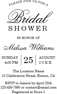 plain invitations zazzle