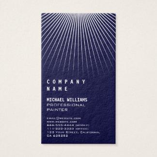 Elegant simple professional profession metal business card