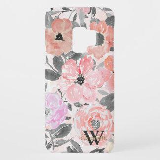 Elegant simple watercolor floral Case-Mate samsung galaxy s9 case