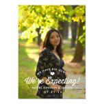 Elegant Simplicity Pregnancy Announcement