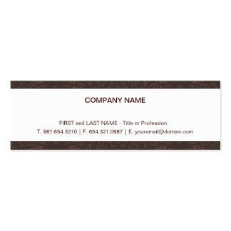 Elegant Skinny Card Business Card Templates