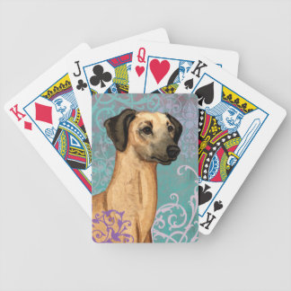 Elegant Sloughi Bicycle Playing Cards