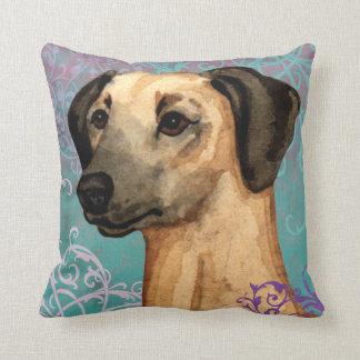 Elegant Sloughi Throw Pillow
