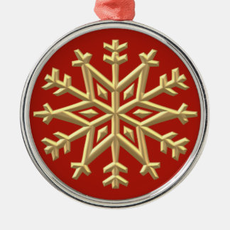 Elegant Snowflake Ornament