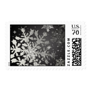 Elegant Snowflake Stamp at Zazzle