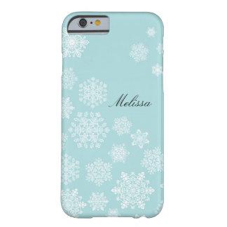 Elegant Snowflakes iPhone 6 case