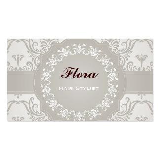 Elegant Soft Damask Business Card Template