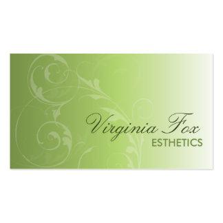 250 Esthetics Business Cards and Esthetics Business Card