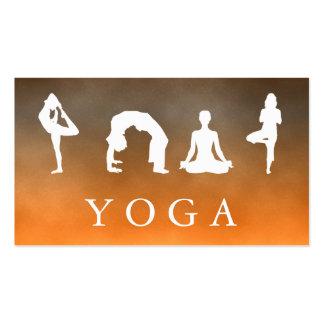 Elegant Soft Logo Yoga Healing Health Business Card