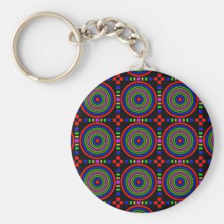 Elegant Sparkling Circles : Energy at work Key Chain