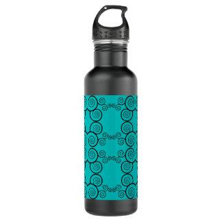 Elegant Spiral Design Liberty Bottle