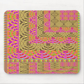 ELEGANT Spiral Diamond Waves in Layers Mousepads