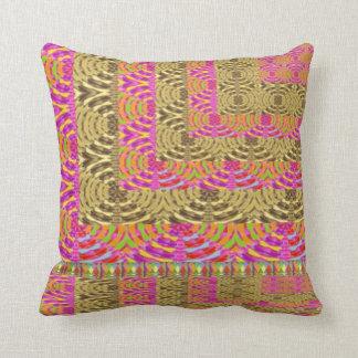 ELEGANT Spiral Diamond Waves in Layers Throw Pillows